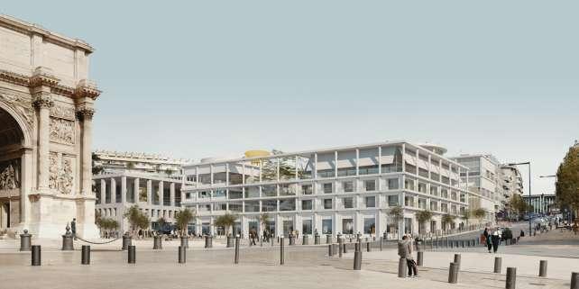 Le projet de l'Institut méditerranéen de la ville et des territoires à Marseille (Bouches-du-Rhône).