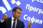 Emmanuel Macron, à Sofia, le 17 mai 2018.
