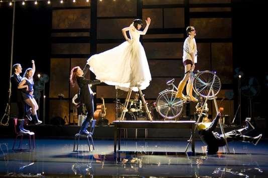 Le spectacle « Paroles gelées» a été créé en 2012 par Jean Bellorini.