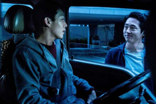 Yoo Ah-in et Steven Yeun dans « Burning » (« Buh-Ning »), de Lee Chang-dong.