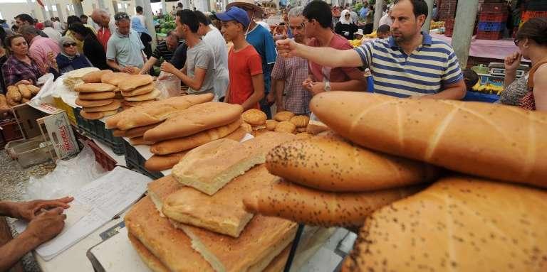 Au marché central de Tunis, lors du premier jour du ramadan, en juin 2014.