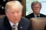 Le conseiller américain à la sécurité nationale, John Bolton, durant la réunion de cabinet autour de Donald Trump, à Washington, le 9 mai.
