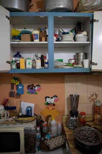 La cuisine de Pedro Civiraz, à Caracas, le 16 mai.