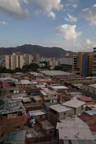Une vue du quartier Los Eucaliptos, à l'ouest de Caracas, le 17 mai.