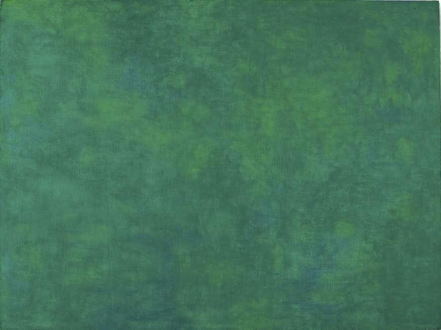 Ellsworth Kelly découvre «Les Nymphéas»lors d'une rétrospective consacrée à Claude Monet en 1952 à Zurich. Il se rendra ensuite à Giverny pour voir, dans l'atelier même du peintre, ces grands panneaux in situ: Kelly réalisera alors un tableau monochrome, « Tableau vert », hommage à Claude Monet et directement inspiré des «Nymphéas» : une composition unie avec de larges étendues de verts«comme de l'herbe qui bouge sous l'eau».