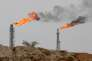 Terminal pétrolier sur l'île iranienne deKharg, dans le golfe Persique.
