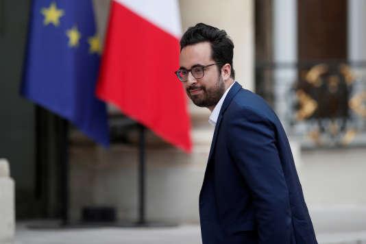 Le secrétaire d'Etat chargé du numérique, Mounir Mahjoubi, le 24 mai, à Paris.
