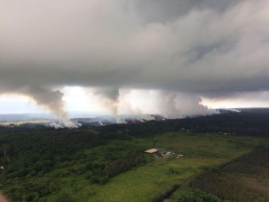Le Kilauea est l'un des volcans les plus actifs du monde et l'un des cinq que compte l'île de Hawaï.