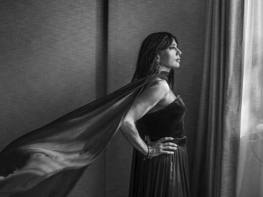 Nadine Labaki à l'hôtel Majestic à Cannes, le 17 mai 2018.