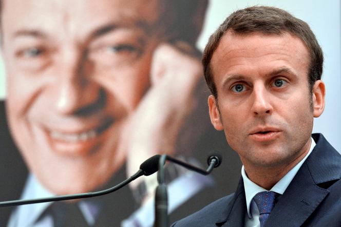 Emmanuel Macron, à Paris, en juillet 2016.