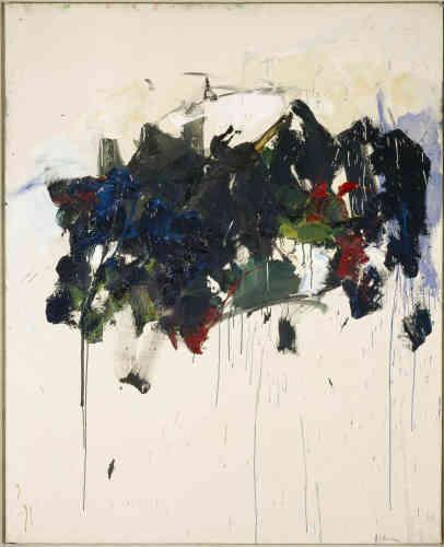 Cette artiste américaine, installée en France à la fin des années 1950, considère la peinture comme une expérience visuelle où «la finalité n'est plus le sujet». Elle compose des toiles gestuelles et colorées et s'inspire directement de la Nature. Elle en retient des sensations qu'elle restitue sur la toile‒ reliant ainsi son œuvre à l'impressionnisme.