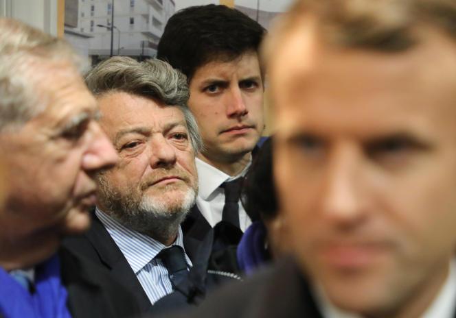 L'ancien ministre centriste Jean-Louis Borloo, le 13 novembre 2017, à Paris.