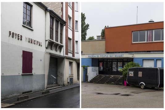Au Bourget et à La Courneuve.
