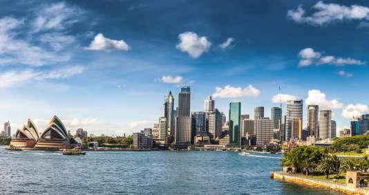 Vue de Sydney, en Australie. Le Forum Expat 2018 du« Monde», les 5 et 6 juin à Paris, aide les candidats au départ à l'étranger à s'y préparer, côté travail, vie quotidienne et patrimoine.