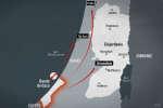 Carte de la région du Proche-Orient.
