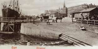 Vue de Riga, vers 1904 (carte postale).