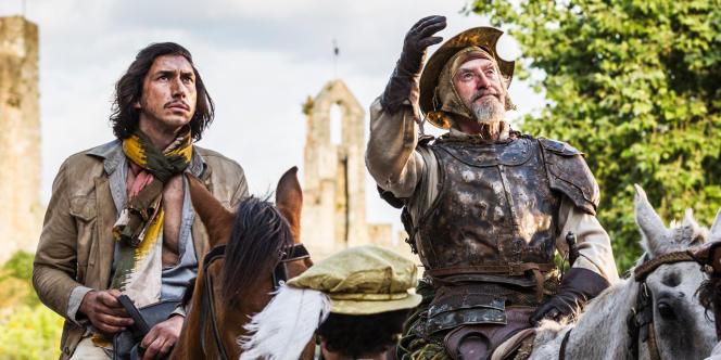 Adam Driver et Jonathan Pryce dans «L'Homme qui tua Don Quichotte», réalisé par Terry Gilliam.