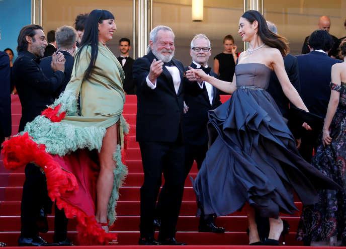 Terry Gilliam au dernier Festival de Cannes, le 19 mai 2018.