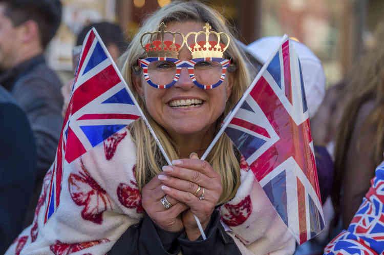Izzy Newman, habitante de Windsor, attend le mariage princier avec impatience.