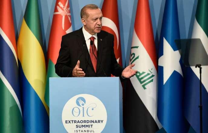 Le sommet a été convoqué par Recep Tayyip Erdogan à Istanbul.