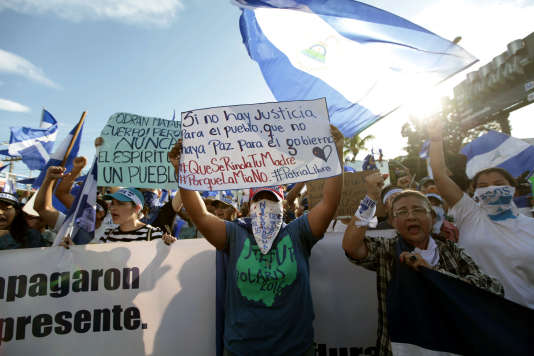 Manifestations meurtrières au Nicaragua: une trêve fragile entre gouvernement et opposition