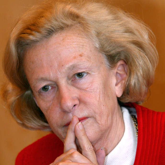 Nicole Fontaine, en 2003.