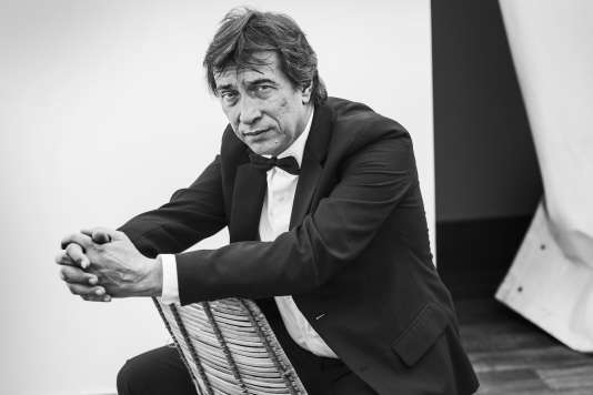 Le réalisateur russe Sergey Dvortsevoy à l'hôtel Marriott à Cannes, le 18 mai 2018.