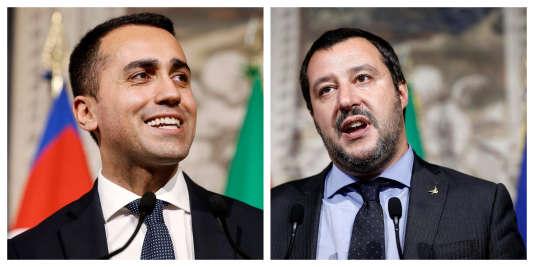 Luigi Di Maio et Matteo Salvini.