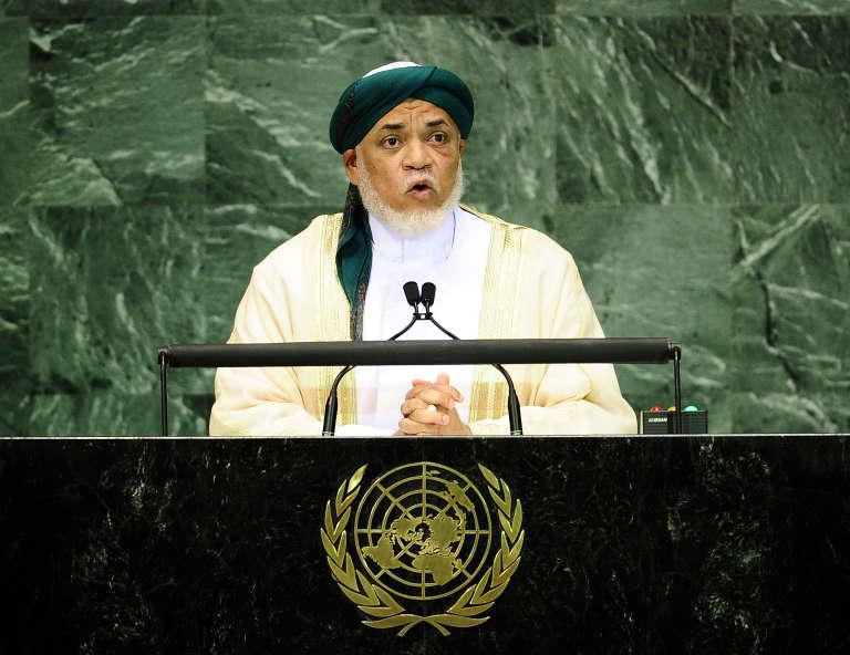 L'ancien président des Comores Ahmed Abdallah Sambi, aux Nations unies, à New York, en septembre 2010.