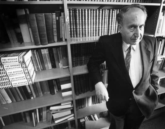 Richard Pipes, le 1er mai 1991, à Cambridge (Massachusetts).