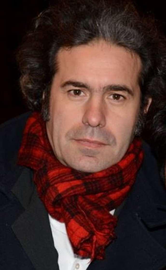 L'écrivain et cinéaste Benoît Cohen, en 2014.