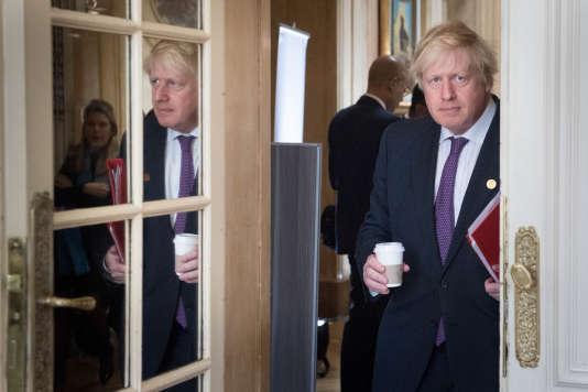 Le ministre britannique des affaires étrangères, Boris Johnson, le 21 mai.