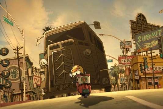 «Mutafukaz», un film d'animation de Shojiro Nishimi et Guillaume « Run » Renard.