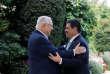 Le président israélien, Reuven Rivlin, a reçu son homologue paraguayen, Horacio Cartes, avant la cérémonie de transfert de l'ambassade du Paraguay à Jérusalem, le 21mai.