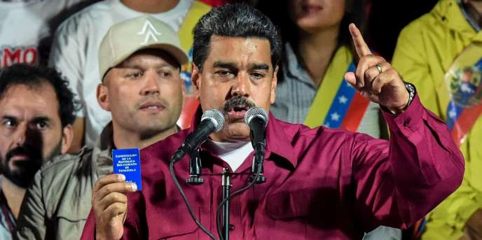 «L'élection de Nicolas Maduro est une blague», a déclaré le vice-président américain Mike Pence.
