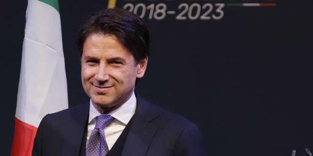 Giuseppe Conte, le 1er mars 2018.