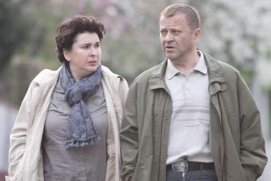 Jasna Zalica etEmir Hadzihafizbegovic dans le filmcroate, français, serbe et macédonien d'Ognjen Svilicic,«Quiet People. Un jour à Zagreb» («Takva su pravila»).