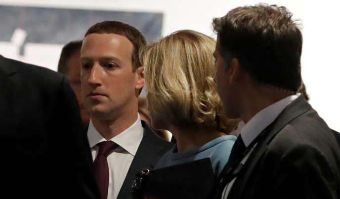 Mark Zuckerberg a été reçu au Parlement européen le 22 mai.