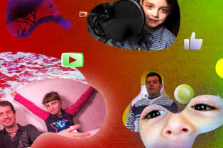 De nombreuses chaînes familiales mettent en scène des enfants sur YouTube.