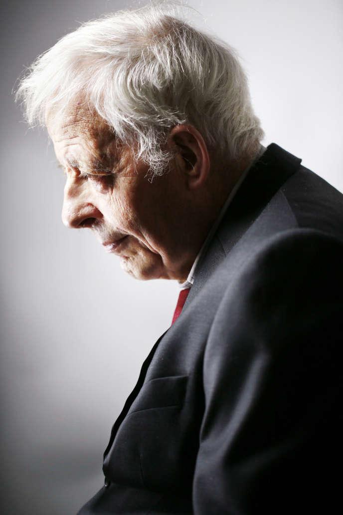 L'historien Emmanuel Le Roy Ladurie, en 2014.