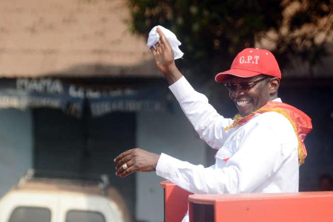 Ibrahima Kassory Fofana à Conakry, en février 2012.