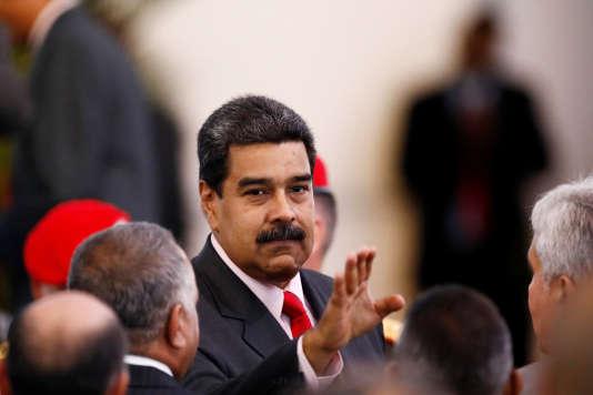 Nicolas Maduro après sa réélection.