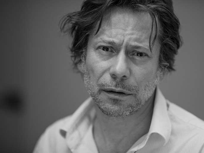 L'acteur et réalisateur Mathieu Amalric, en 2017.