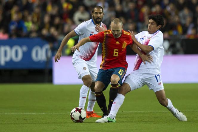 Andres Iniesta aspire à remporter un nouveau trophée avec l'Espagne.