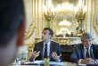 Emmanuel Macron et Jean-Louis Borloo, à l'Elysée, mardi 22 mai.