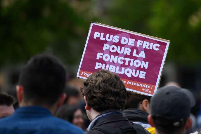 Manifestation du 1er mai, à Rennes.