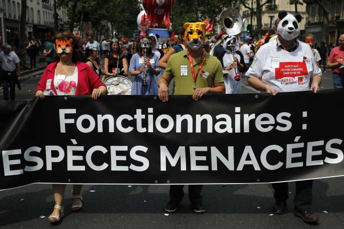A Paris, 16 400 personnes ont pris part au défilé, d'après le comptage indépendant du cabinet Occurrence.