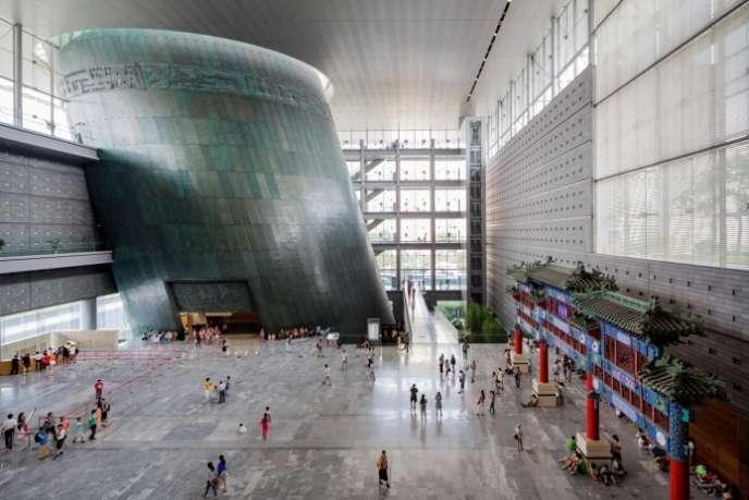 Arep a conçu le Musée historique de la Ville de Pékin, inauguré en 2006.