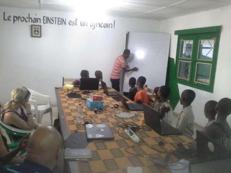 Babylab, un fab lab en Côte d'Ivoire.