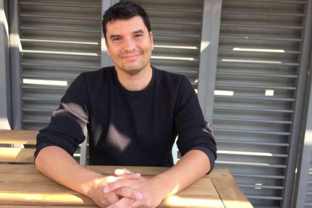 Nicolas Laurent, le PDG de Riot Games, lors d'un entretien avec «Le Monde» dans les bureaux parisiens de l'éditeur.